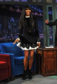 Naomi Campbell on Jimmy Fallon