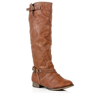 Tan Knee High Riding Boots, $19, http://www.windsorstore.com